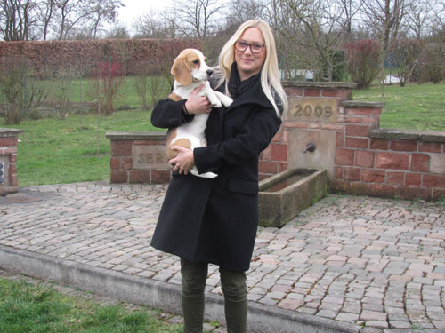 Diana mit ihrer neuen Chefin 004